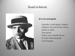 Oswald - Erro de Português